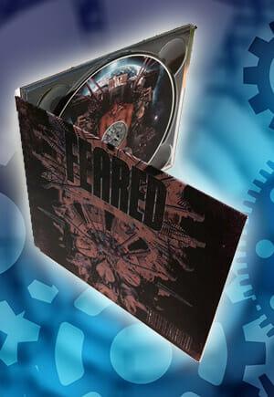 Digipack fodral till CD eller DVD
