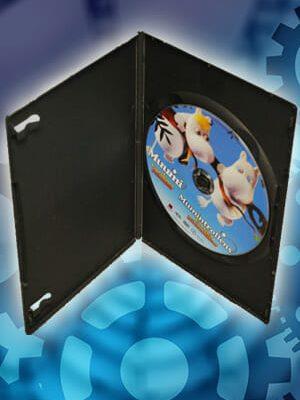 DVD skivor i DVD fodral